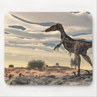 Velociraptordinosaurier - 3D übertragen Mousepads