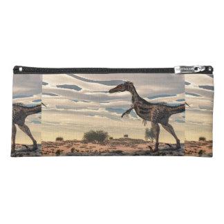 Velociraptordinosaurier - 3D übertragen Stiftetasche