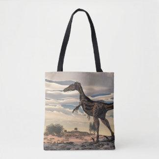Velociraptordinosaurier - 3D übertragen Tasche