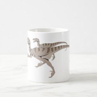 velociraptoren kaffeetasse