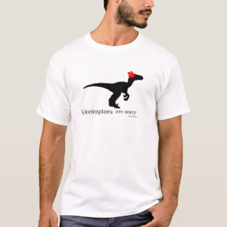 Velociraptors sind beängstigend T-Shirt