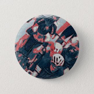 Velodrome-Abzeichen Runder Button 5,7 Cm
