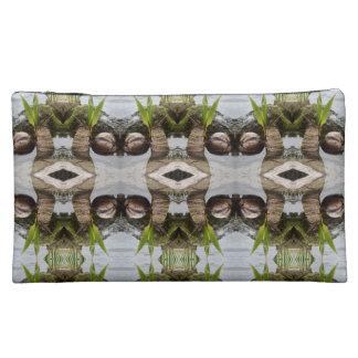 Veloursleder-mittlere kundenspezifische tropische Makeup-Tasche