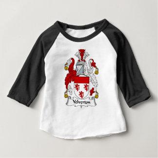 Velverton Familien-altes Wappen Familienwappen Baby T-shirt
