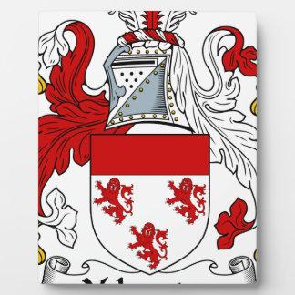 Velverton Familien-altes Wappen Familienwappen Fotoplatte
