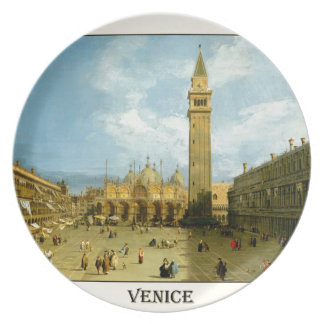 Venedig 1720 melaminteller