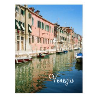 Venedig bringt Postkarte unter