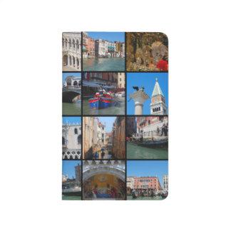Venedig-Collage Taschennotizbuch