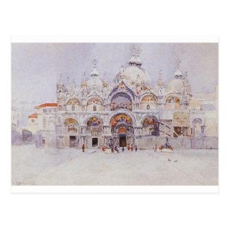 Venedig. Die Basilika des Heiligen Kennzeichens. Postkarte