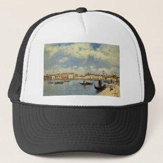 Venedig durch Eugene Boudin Truckerkappe