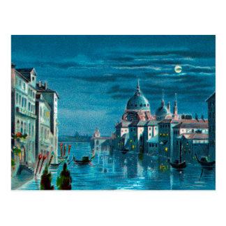 Venedig durch Mondschein Postkarte