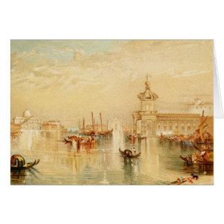 Venedig durch Turner Karte