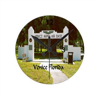 Venedig Florida Runde Wanduhr