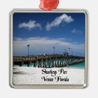 Venedig Florida Silbernes Ornament