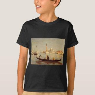 Venedig-Gondel auf Canal Grande durch Camille T-Shirt