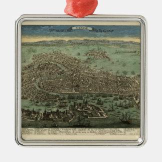 Venedig Italien 1798 Silbernes Ornament