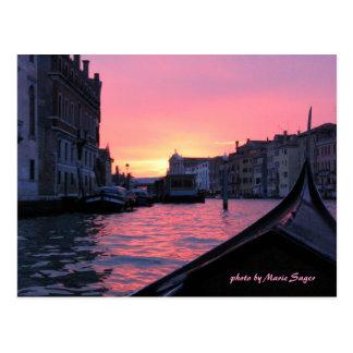 Venedig, Italien, Foto durch Marie Sager Postkarte