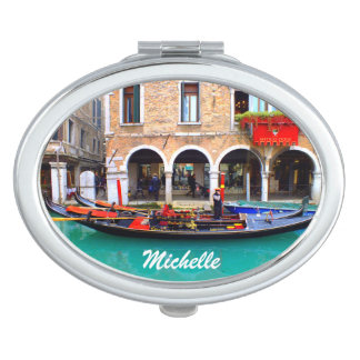 Venedig, Italien (IT) - Gondoliere Taschenspiegel