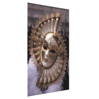 Venedig, Italien (IT) - Maskerade Leinwanddruck