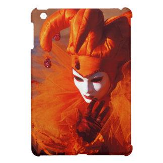 Venedig, Italien (IT) - orange Karnevals-Kostüm iPad Mini Hülle