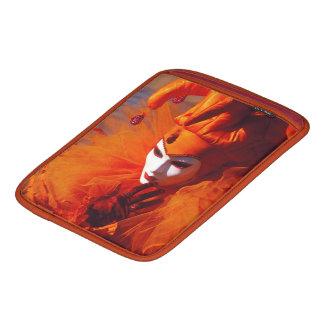 Venedig, Italien (IT) - orange Karnevals-Kostüm Sleeve Für iPads