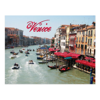 Venedig, Italien Postkarte