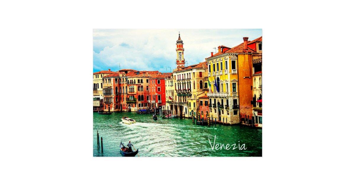 Venedig - Italien Postkarte   Zazzle.de