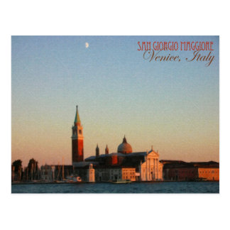 Venedig, Italien: San Giorgio Maggiore - Postkarte