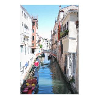 Venedig-Kanal Briefpapier