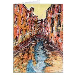 Venedig-Kanäle Karte