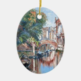 Venedig-Kanäle Keramik Ornament