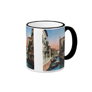 Venedig-Kanäle, Vintages Bild Teehaferl