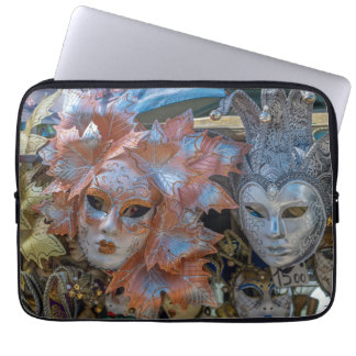 Venedig-Karneval maskiert Laptophülse Laptop Sleeve