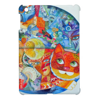 Venedig-Katzen carnaval iPad Mini Hüllen