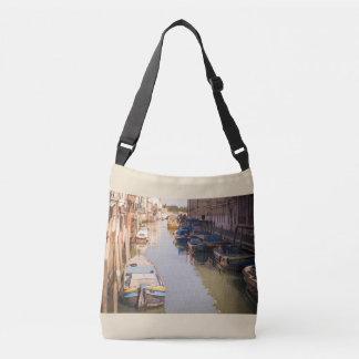 Venedig-Landschaft Tragetaschen Mit Langen Trägern