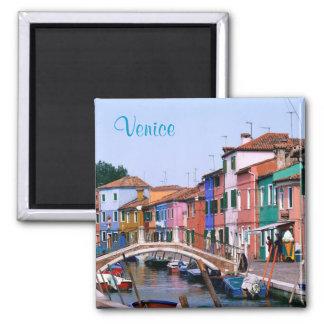Venedig-Magnet Quadratischer Magnet
