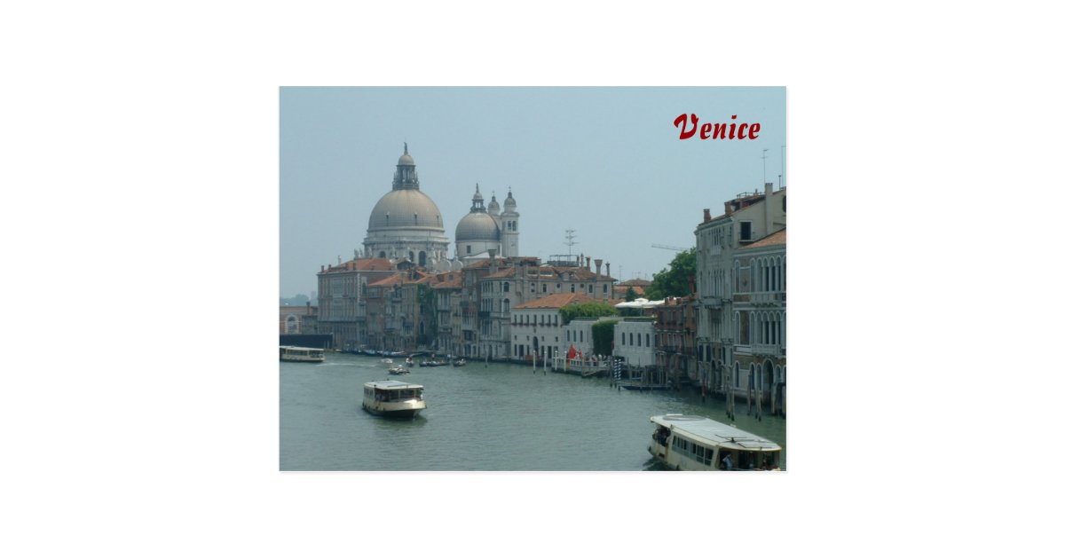 Venedig Postkarte   Zazzle