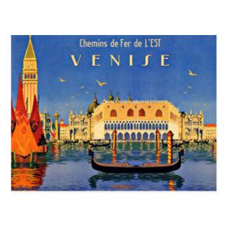 Venedig-Reise Postkarte