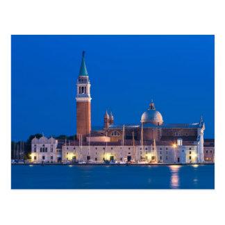 Venedig- - Sangiorgio Maggiore Postkarte