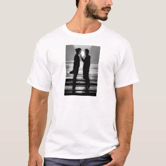 VENEDIG-SONNENUNTERGANG AN LIDO STRAND T-Shirt