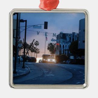 Venedig-Sonnenuntergang Silbernes Ornament