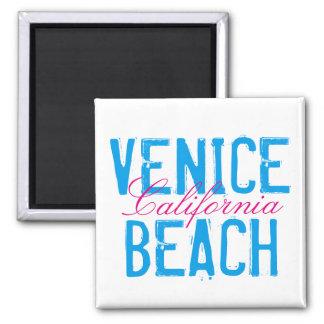 Venedig-Strand Kalifornien Quadratischer Magnet