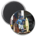 Venedig-Strand, Kalifornien Runder Magnet 5,1 Cm