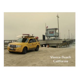 Venedig-Strand-Postkarte! Postkarte
