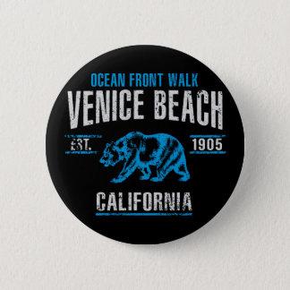 Venedig-Strand Runder Button 5,7 Cm