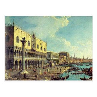 Venedig Vedute durch Bernardo Bellotto Postkarte