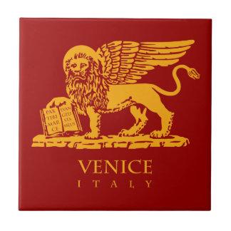 Venedig-Wappen Kleine Quadratische Fliese