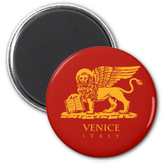Venedig-Wappen Runder Magnet 5,7 Cm