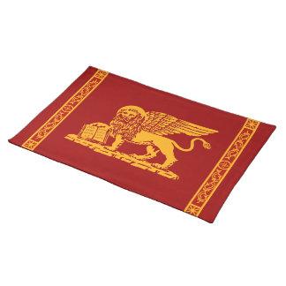 Venedig-Wappen Stofftischset