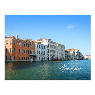 Venezia Gran Kanal-Postkarte Postkarte